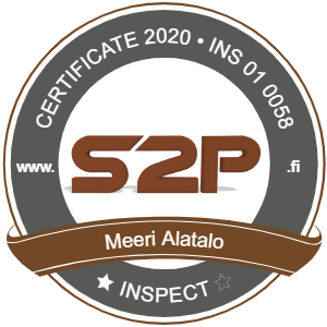 S2P sertifikaatti 2020